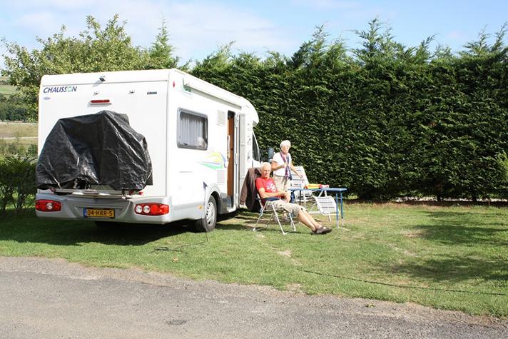 Caravane camping à saint-flour